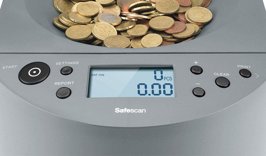 compteuse trieuse de pièces euros